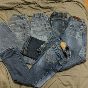 Lot of boys jeans